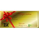 Chèque cadeau 35 euros