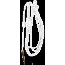 Fourragère Blanche, ferret et coulant OR